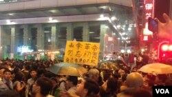 旺角街头示威暴力频现引发严重关注