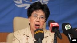 Margaret Chan, direktur jenderal Badan Kesehatan Dunia (WHO).
