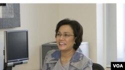 Sri Mulyani, Direktur Pelaksana Bank Dunia, disela-sela Festival Indonesia di Washington DC mengatakan satu milyar orang tidur dalam keadaan lapar setiap malam. (Foto: file dok)