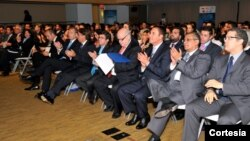 """Secretario de la OEA, José Miguel Insulza, participó en el Foro """"Vanguardia Latina 2012"""" del BID. [Foto: OEA]"""