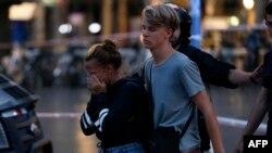 组图:巴塞罗那发生汽车冲撞行人的恐袭事件