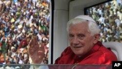 教宗本篤十六世主持彌撒。