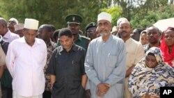 Rais wa Zanzibar, Dk Ali M. Shein na Makamu wa kwanza wa Rais Maalim Seif Sharif