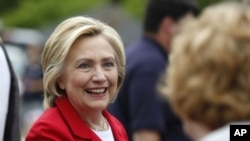 힐러리 클린턴 전 국무장관 (자료사진)
