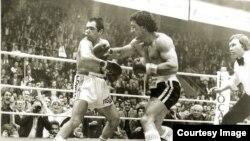 Meč sa Žilberom Koenom - 1979. godine (Fotografiju ustupio Željko Tica)