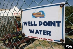Some enterprises that depend on water have closed in drought-ravaged Cape Town... but, surprisingly, not the Water World fun park.
