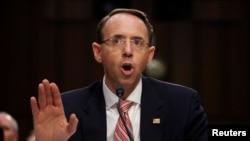 Ông Rod Rosenstein, Thứ trưởng Bộ Tư pháp Hoa Kỳ.