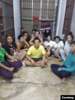 ကမ္ဖယ္ခရိုင္က အခ်ဳပ္မွာ ဖမ္ဆီးခံေနရတဲ့ MOU နဲ့လာတဲ့ ျမန္မာအလုပ္သမားမ်ား