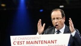 Francois Hollande, April 17, 2012.