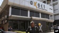 جعلی ڈگریوں کے کاروبار میں ملوث ہونے کے الزام کا سامنا کرنے والی 'ایگزیکٹ' کمپنی کا ایک دفتر (فائل فوٹو)