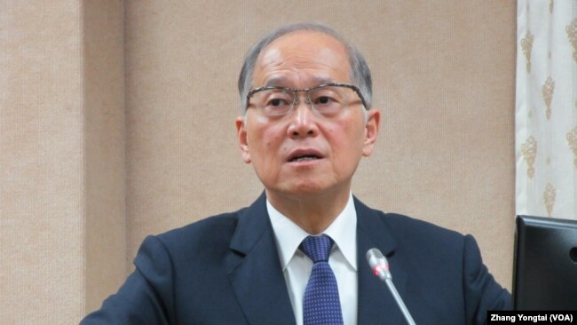 台湾国家安全会议秘书长李大维(美国之音张永泰拍摄)
