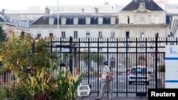Bệnh viện quân y Begin ở Saint-Mande, đông Paris, nơi y tá nhiễm Ebola được điều trị và đã hồi phục