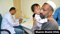 Dengue Affected People Punjab Mobile Team at Peshawar