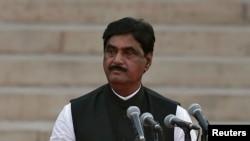 Ông Munde vừa tuyên thệ nhậm chức Bộ trưởng Phát triển Nông thôn tuần trước sau khi ông Modi thắng áp đảo trong cuộc bầu cử Quốc hội.