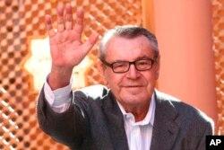 """El checo Milos Forman, director de """"Amadeus"""", presidente del jurado del séptimo Festival de Cine de Marrakesh. Marrakesh, Marruecos, 8-12-07."""