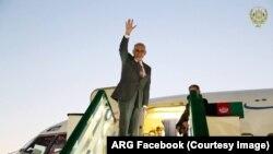 رئیس جمهور غنی ساعت ۷ صبح امروز از ولایت هرات راهی تهران شد.