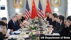 美中两国高官参加能源安全会议(美国国务院)