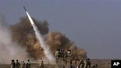 伊朗致力發展導彈。