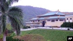 大陸游客的必到旅游點--台北故宮博物館