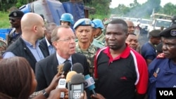 Martin Kobler, chef de la Mission de l'ONU en RDC (Photo VOA)