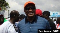 Jean-Pierre Fabre, candidat malheureux de l'opposition à l'élection présidentielle du 25 avril au Togo, refuse de faire recours mais s'est auto-proclamé président élu.