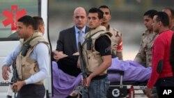 ေထာင္ေဆးရံုကေန ျပန္ဆင္းသြားတဲ့ သမၼတေဟာင္း Hosni Mubarak ။
