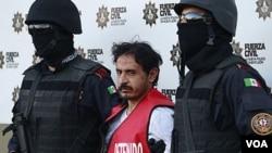 Baltazar Saucedo Estrada reveló su participación en otros asesinatos y desaparición de policías de Santa Catarina.