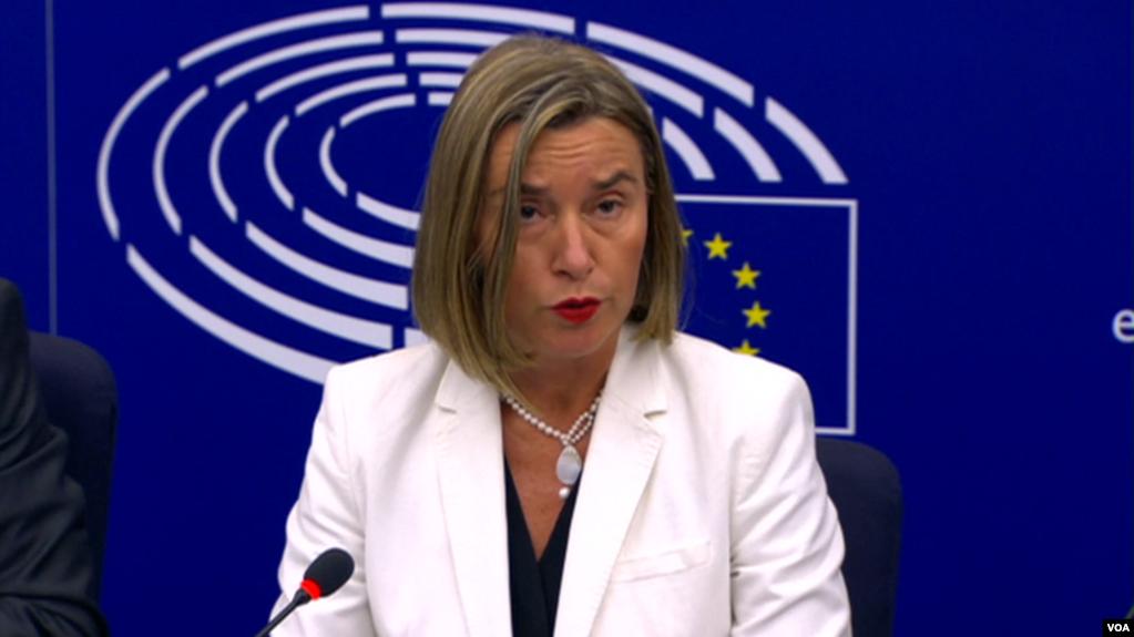 Mogherini: Rekomandojmë negociatat e antarësimit me Shqipërinë