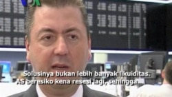 Investor Cemas Resesi Baru akan Landa AS - Liputan VOA untuk VOA Kabar Pasar 29 Agustus 2011