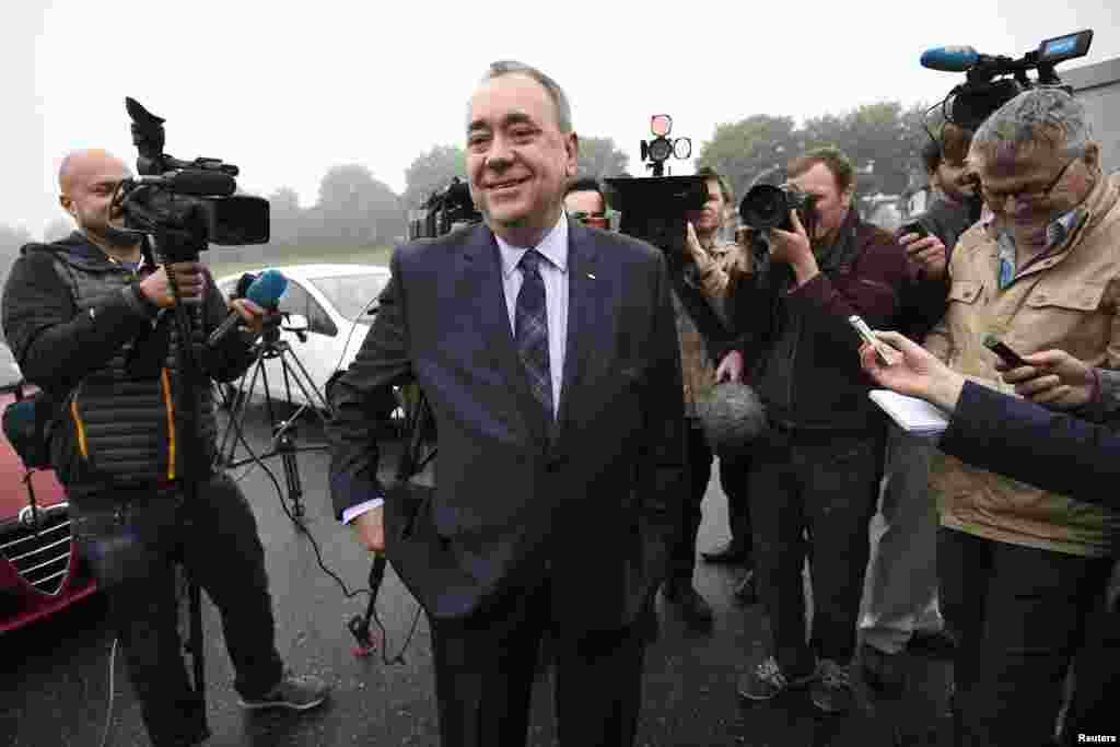 Перший міністр Шотландії Алекс Салмонд