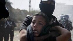 ناسیونالیست های اسراییلی در یک شهر عرب نشین راه پیمایی کردند