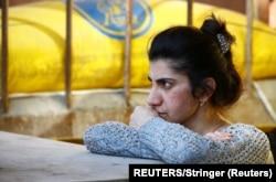 نوگورنو کارباخ میں بیسمنٹ بم حملوں سے بچنے کے لیے پناہ گاہ کے طور پر استعمال ہو رہی ہے۔