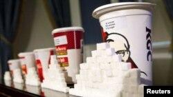 El cuatro por ciento de los niños estudiados bebieron cuatro o más raciones de soda por día.