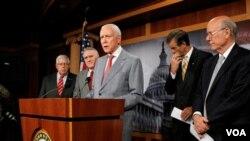 En Washington los republicanos reclaman que se avance con los tratados de libre comercio.