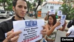 Conan Quintana, el estudiante asesinado, demandó seguridad para los venezolanos días antes de su muerte a través de la red social Twitter.
