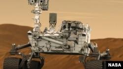 22일 첫 시험 운전에 들어갈 예정인 미국 항공우주국의 화성 탐사로봇 큐리오시티.