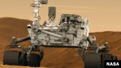 NASA-curiosity Mars Rover