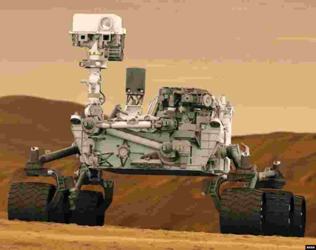 NASA-curiosity Mars Rover