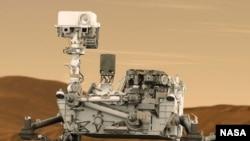 Marsovski rover Kjuriositi