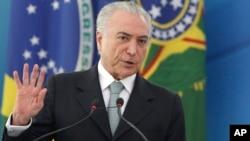 Michel Temer, Presidente brasileiro