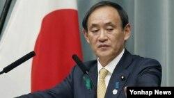 日本內閣官房長官菅義偉(資料圖片)