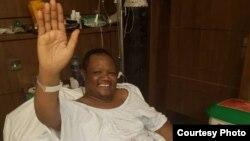 Tundu Lissu akiwa hospitali nchini Kenya