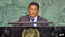 Tổng thống đảo quốc Nauru Marcus Stephen nói nước ông và các đảo quốc khác đang phải đối mặt với thách thức an ninh lớn nhất do hiện tượng tăng nhiệt địa cầu gây ra