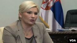 Zorana Mihajlović, potpredsednica srpske vlade