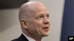Menteri Luar Negeri Inggris, William Hague (Foto: dok).