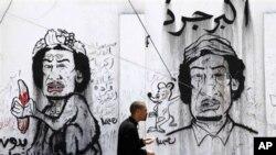 لیبیا: ناتۆ بۆردومانی نزیک کهناڵێـکی تهلهفیزیۆنی دهکات هاوکاتی قهزافی لهوێ وتاری پـێشکهش دهکرد