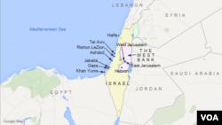 Ізраїль і суміжні території