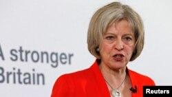 Menteri Dalam Negeri Inggris Theresa May (foto: dok).