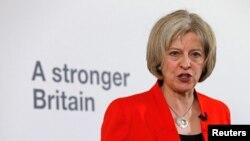 Menteri Dalam Negeri Inggris Theresa May. (Foto: dok.)