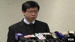 香港衛生署衛生防護中心總監梁挺雄(視頻截圖)